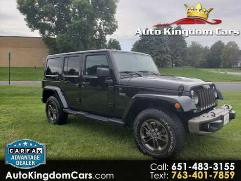 2016 Jeep Wrangler Unlimited Sahara 4WD for sale in Blaine, MN