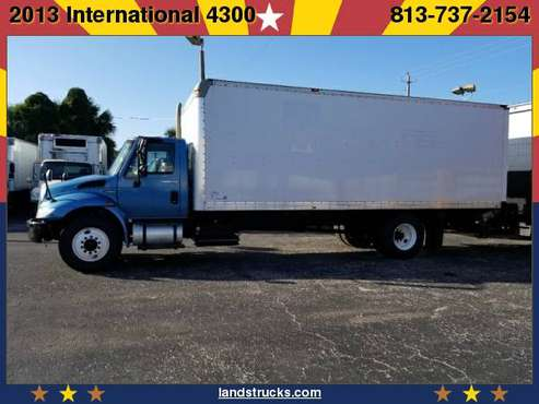 2013 International 4300 24 ft Box Truck/Liftgate for sale in Plant City, FL