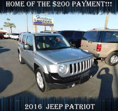 2016 Jeep Patriot BUY HERE PAY HERE!!!!- A Quality Used Car! - cars... for sale in Casa Grande, AZ