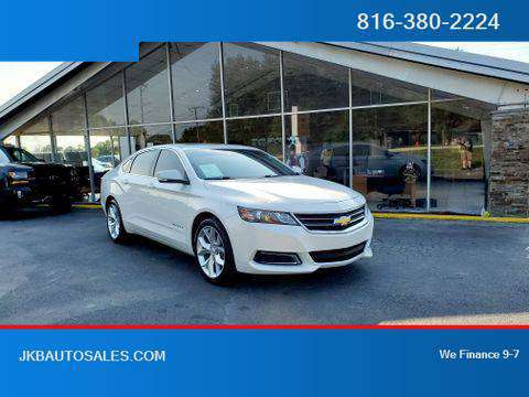 2017 Chevrolet Impala FWD LT Sedan 4D Trades Welcome Financing Availab for sale in Harrisonville, MO