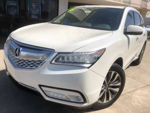 15' Acura MDX Tech Pkg, NAV, 3rd row, Must See & Drive for sale in Visalia, CA