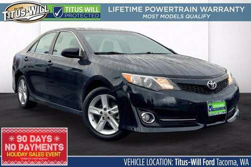 2014 Toyota Camry SE Sedan - cars & trucks - by dealer - vehicle... for sale in Tacoma, WA
