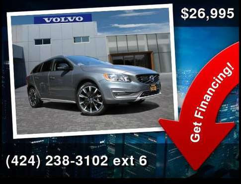 2016 Volvo V60 Cross Country T5 for sale in Culver City, CA