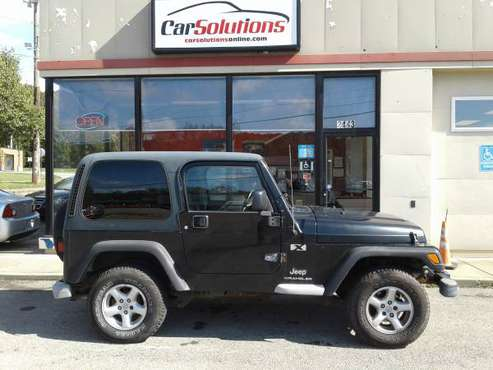 2004 JEEP WRANGLER X hardtop for sale in Hermitage, PA