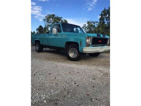 1974 Chevrolet C10 for sale in Cadillac, MI