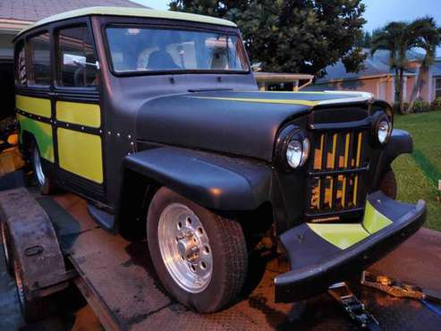 62 Willys Wagon Hot Rod / Rat Rod ...... trades? for sale in Port Saint Lucie, FL