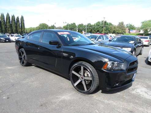 ** 2013 Dodge Charger SXT Plus Loaded 22's BEST DEALS GUARANTEED ** for sale in CERES, CA