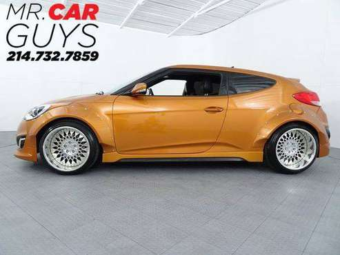 2016 Hyundai Veloster Turbo Rates start at 3.49% Bad credit also ok! for sale in McKinney, TX