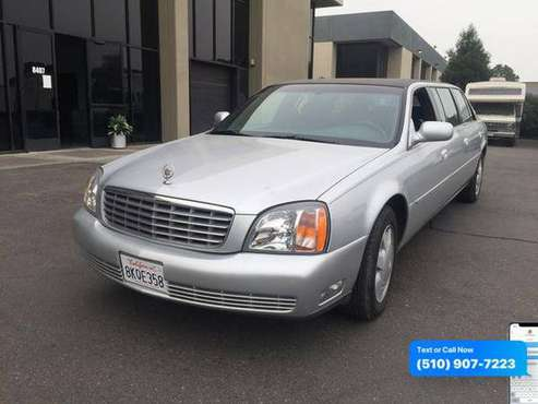 2000 Cadillac DeVille DHS Sedan 4D - cars & trucks - by dealer -... for sale in Newark, CA