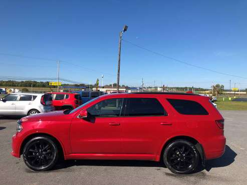 2017 DODGE DURANGO RT AWD for sale in CHAMPLAIN NEWYORK, NY