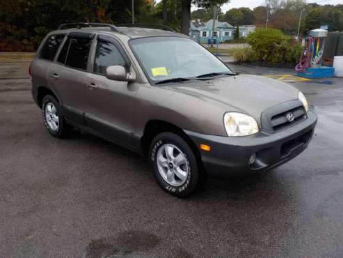2005 HYUNDAI SANTE FE for sale in Attleboro, RI