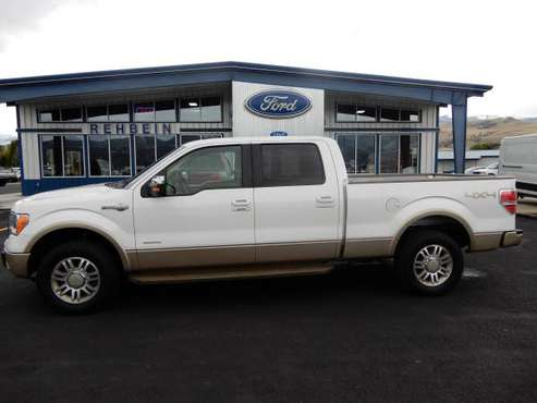 2011 F-150 Crew 4x4 King Ranch for sale in Plains, MT