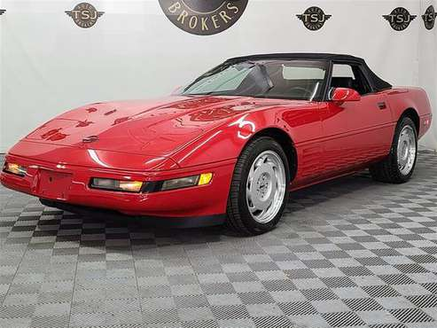 1992 CHEVROLET CORVETTE CONVERTIBLE - cars & trucks - by dealer -... for sale in Lakewood, NJ