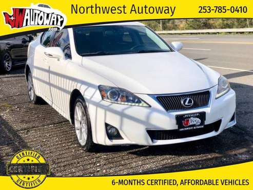 2012 Lexus IS 250 4dr Sdn Auto AWD for sale in PUYALLUP, WA