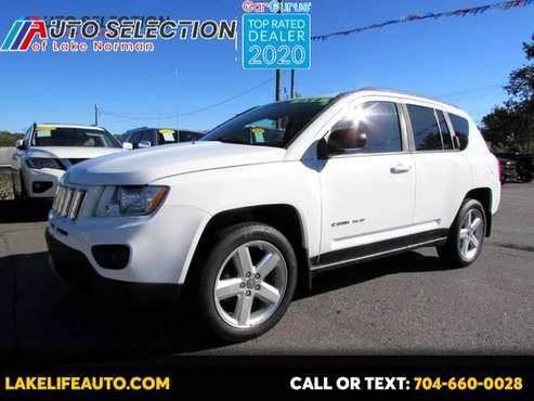 2012 Jeep Compass Limited 4WD - cars & trucks - by dealer - vehicle... for sale in Mooresvile, NC