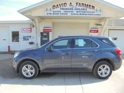 2013 Chevy Equinox LS FWD**Low Miles/65K**{www.dafarmer.com} for sale in CENTER POINT, IA