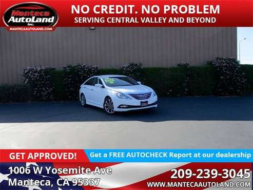 2014 Hyundai Sonata SE for sale in Manteca, CA