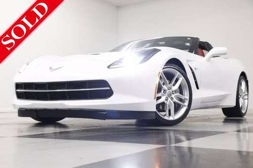 *CAMERA - BLUETOOTH* White 2018 Chevrolet Corvette Stingray LT Coupe... for sale in Clinton, KS