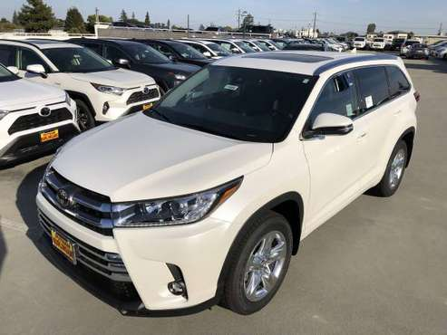 NEW 2019 TOYOTA HIGHLANDER LIMITED AWD *Ventilated Leather Front Seats for sale in Burlingame, CA