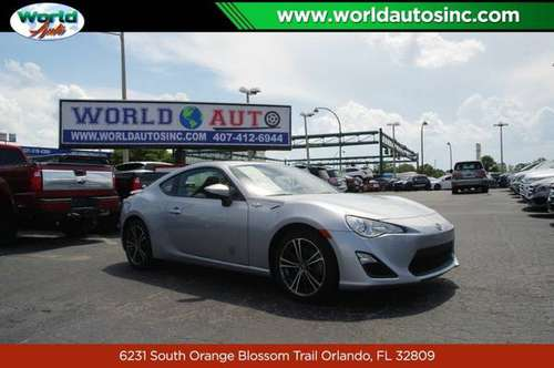 2016 Scion FR-S 6AT $729 DOWN $60/WEEKLY for sale in Orlando, FL