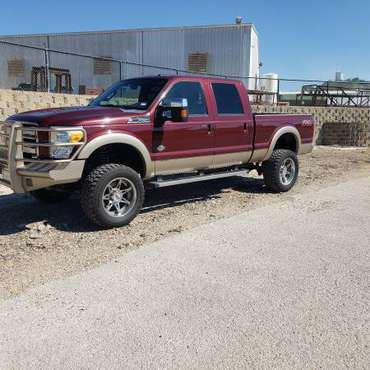 2012 F-250 Lifted King Ranch for sale in Graham, TX