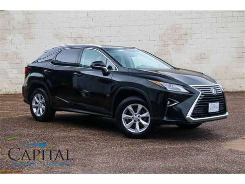 2016 Lexus RX350 w/Upgrade Nav Option, Heated & Cooled Seats! for sale in Eau Claire, WI