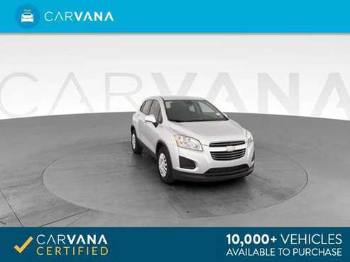 2015 Chevy Chevrolet Trax LS Sport Utility 4D hatchback Silver - for sale in Las Vegas, NV