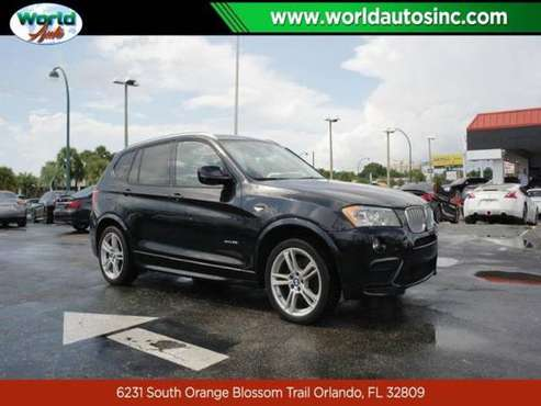 2014 BMW X3 xDrive35i $729/DOWN $75/WEEKLY for sale in Orlando, FL