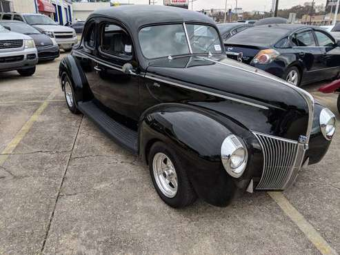 1940 Ford Deluxe Coupe Hot Rod for sale in Baton Rouge , LA