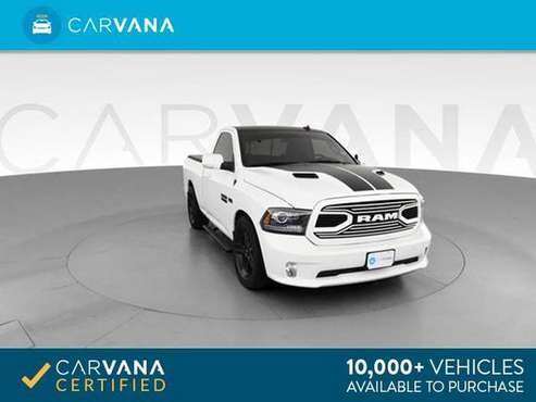 2018 Ram 1500 Regular Cab Sport Pickup 2D 6 1/3 ft pickup White - for sale in Louisville, KY