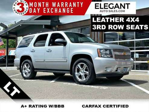 2012 Chevrolet Tahoe LT LEATHER 3RD ROW SEAT 4X4 SUV 4WD Chevy for sale in Beaverton, OR
