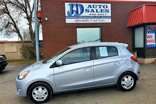 2015 Mitsubishi Mirage- gas saver with low miles for sale in Helena, MT