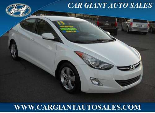 2013 HYUNDAI ELANTRA GLS **99 MILES*** for sale in Modesto, CA
