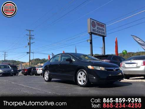 2008 Honda Civic EX sedan AT for sale in Knoxville, TN