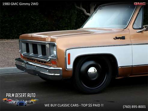 1980 GMC Jimmy for sale in Palm Desert , CA