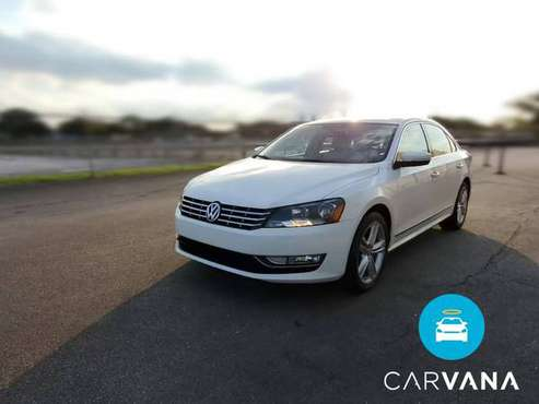 2014 VW Volkswagen Passat TDI SE Sedan 4D sedan White - FINANCE... for sale in Albuquerque, NM
