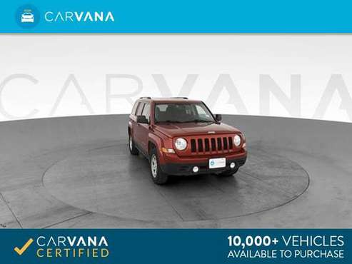 2016 Jeep Patriot Sport SUV 4D suv Red - FINANCE ONLINE for sale in Atlanta, CA