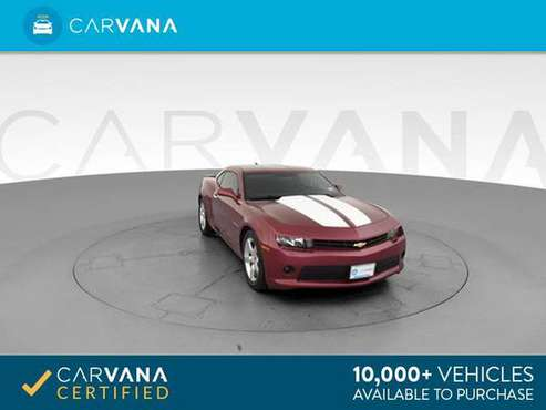 2014 Chevy Chevrolet Camaro LT Coupe 2D coupe Red - FINANCE ONLINE for sale in Atlanta, TN