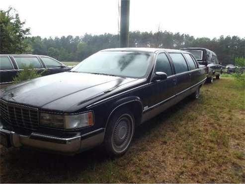 1995 Cadillac Fleetwood for sale in Cadillac, MI