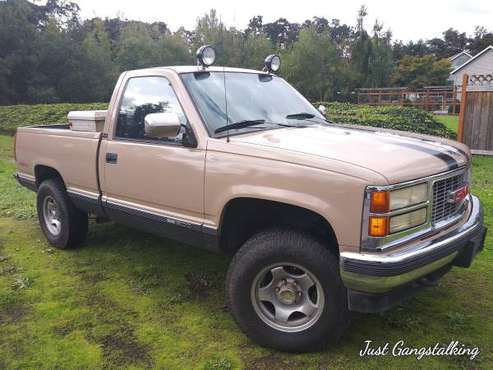 !!!PRICE REDUCED BY $500!!!blown motor GMC SIERRA 4×4 for sale in Springfield, OR