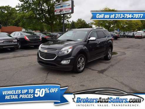 ***2016 CHEVROLET EQUINOX LTZ AWD-55K MILES*** NAVIGATION, MUST SEE!!! for sale in Taylor, MI