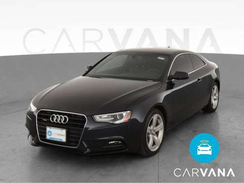 2014 Audi A5 Premium Plus Coupe 2D coupe Blue - FINANCE ONLINE -... for sale in Farmington, MI