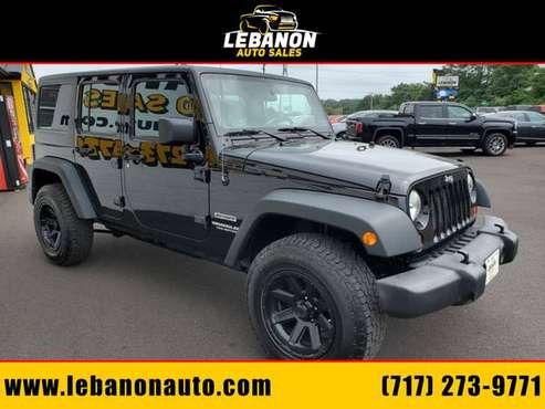 !!!2013 Jeep Wrangler Unlimited Sport 4WD!!! 1-Owner/Manual/Hardtop for sale in Lebanon, PA