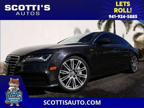 2012 Audi A7 3.0 Prestige~ SUPERCHARGED!~ DEALER SERVICED~ AWESOME... for sale in Sarasota, FL