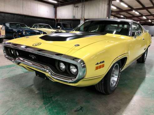 1971 Plymouth GTX 440 / Automatic / Air Grabber #125374 - cars &... for sale in Sherman, FL