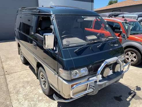 1993 Mitsubishi Delica Super Exceed Crystal Lite Roof - Diesel 4WD -... for sale in SF bay area, CA