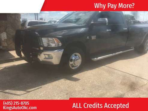 "2011 Ram 3500 2WD Crew Cab 169"" ST 500 down with trade ! BAD OR GOOD I for sale in Oklahoma City, OK"