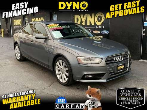 2013 Audi A4 2.0 T Sedan FrontTrak Multitronic - cars & trucks - by... for sale in Bellflower, CA