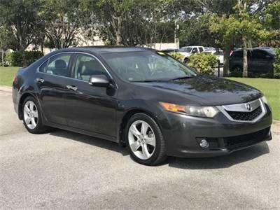 2010 ACURA TSX SEDAN w/NAVIGATION for sale in Sarasota, FL