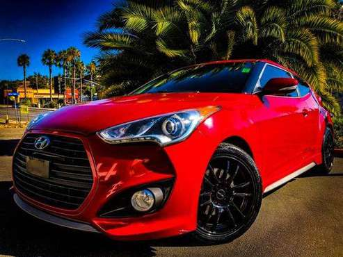 2013 Hyundai Veloster Turbo * BLACK RIMS * INTAKE * EXHAUST * 3dr... for sale in Vista, CA